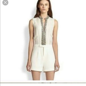 Haute Hippie Swan Romper with Tags